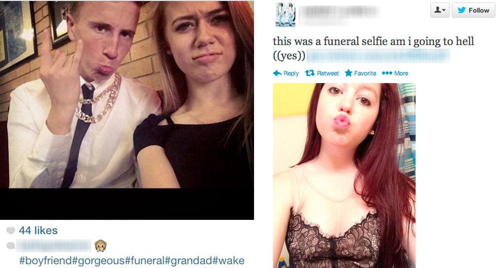 selfiesfunerals