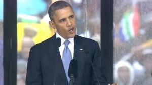 Obama's Complete Nelson Mandela Memorial Speech