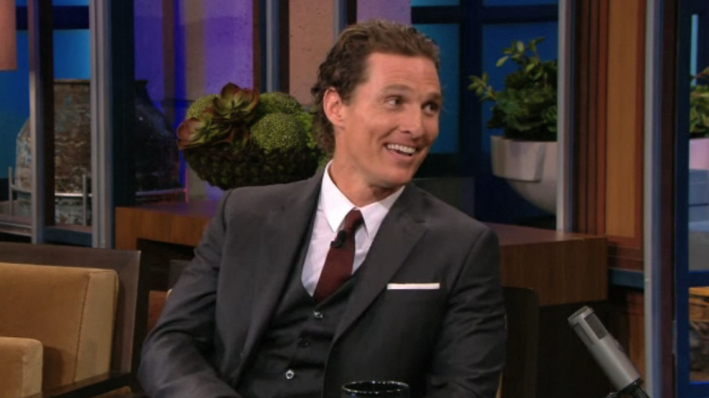 Video-Matthew-McConaughey-Tonight-Show-Jay-Leno