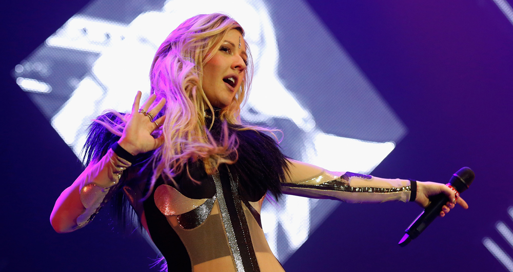 Ellie Goulding Performs At The 02 Arena