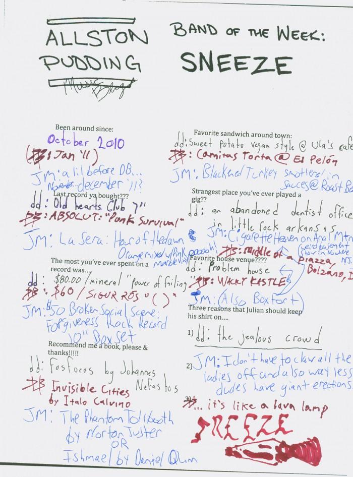 Sneeze BDC Wire Quiz