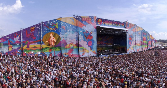 Woodstock 99s frozen galleries 95
