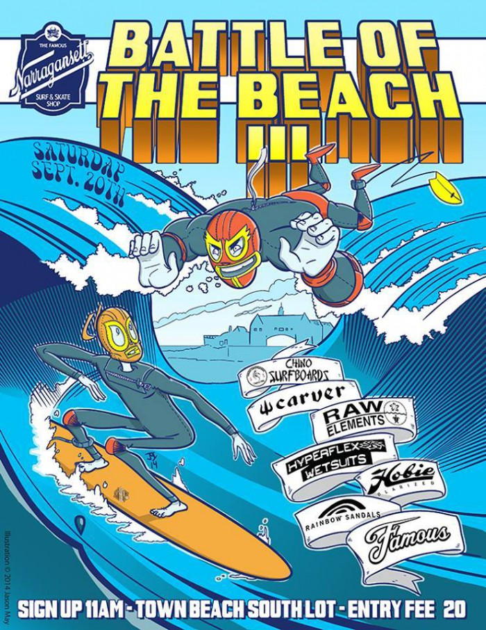 Battle of the Beach flyer