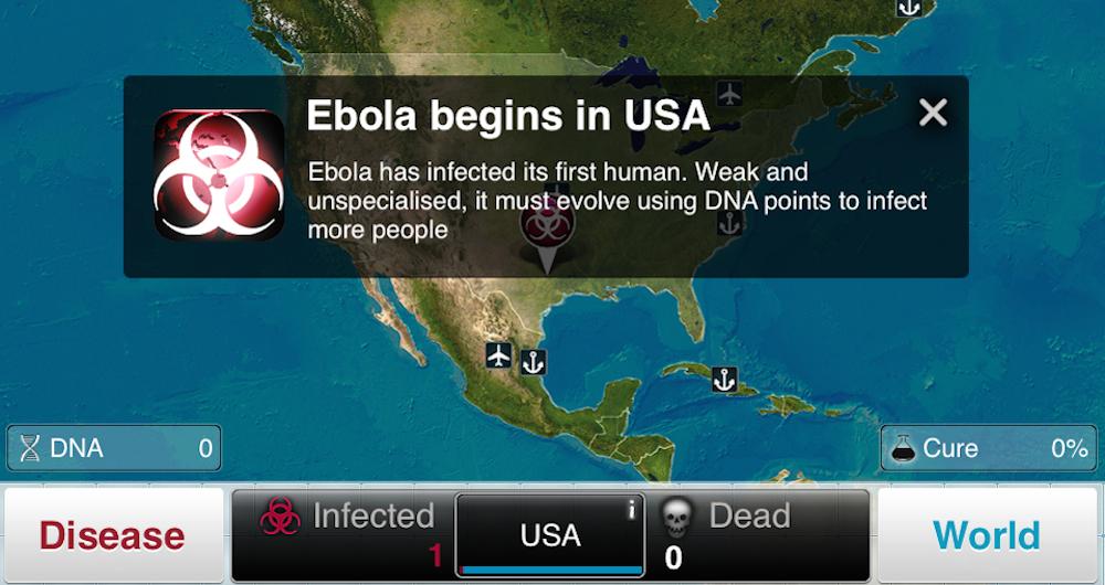 Plague Inc Ebola Virus