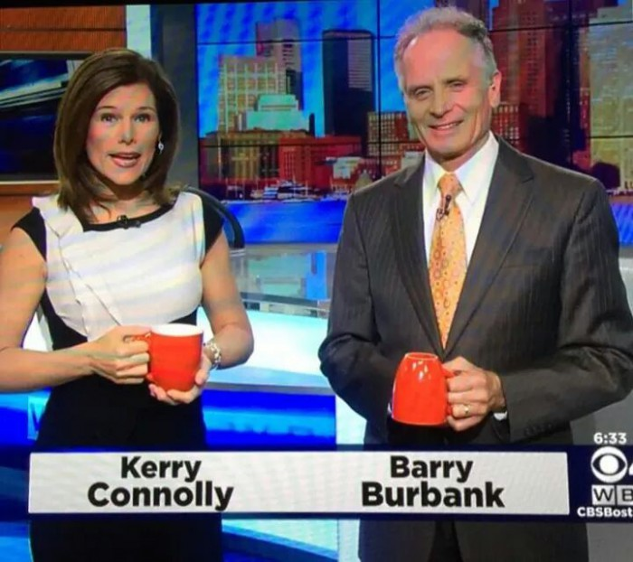 barry burbank coffee mug