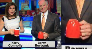barry burbank coffee cup