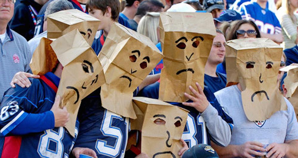 Bills Fans Sad