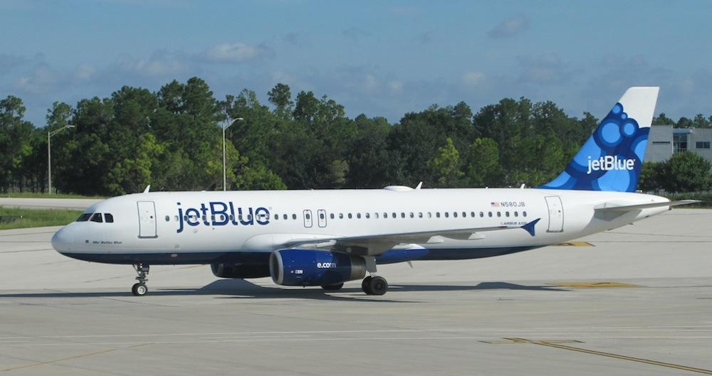 jet blue flight