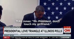 obama girlfriend
